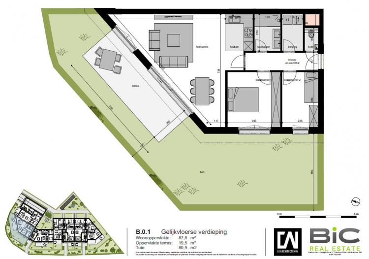 plan appartement B.0.1